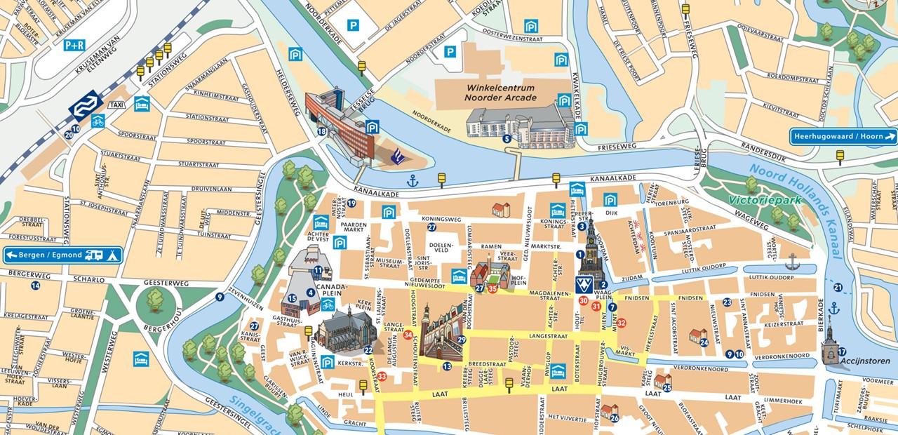 Plan Centre Ville Tours